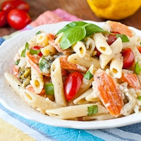 Pasta Primavera or Spring in a Bowl