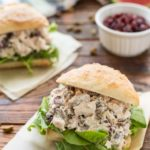 Cranberry and Pistachio Chicken Salad