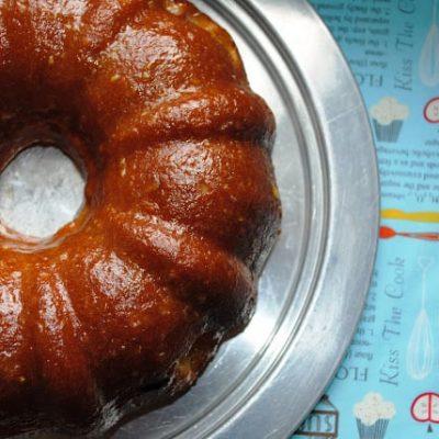 vanilla-peach-bundt-cake