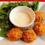 Crispy Chicken Fire Balls