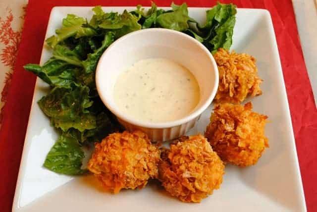 Crispy Chicken Fire Balls