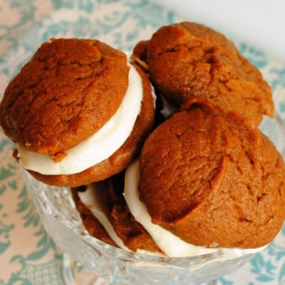 Pumpkin Whoopie Pies recipe from Neighborfoodblog.com