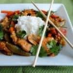 Thai Chicken and Veggie Stir Fry