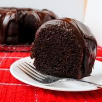 CHocolate bundt slice thumb
