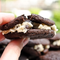 cookie dough brownie cookies thumb