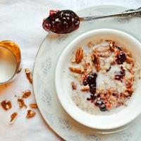 Strawberry Jam Breakfast Quinoa
