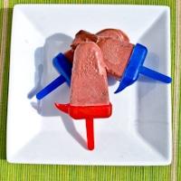 Strawberry Nutella Fudge Pops