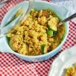 Warm Zucchini Quinoa