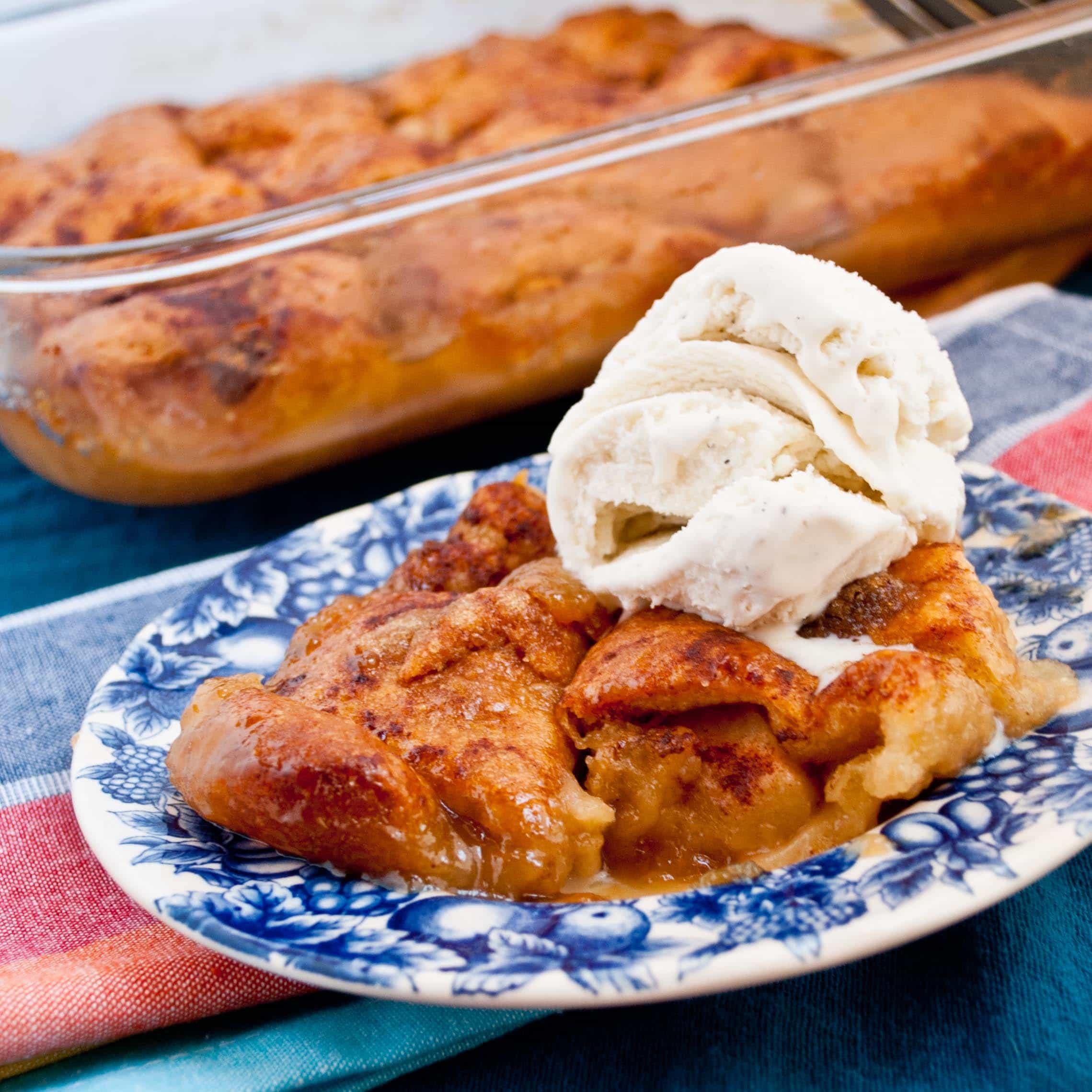 The easiest, tastiest Apple Dumplings of your life