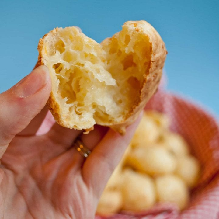 Gluten Free Pao de Queijo (Brazi Bites)