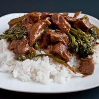Crock Pot Beef and Broccoli (It's gluten free!)