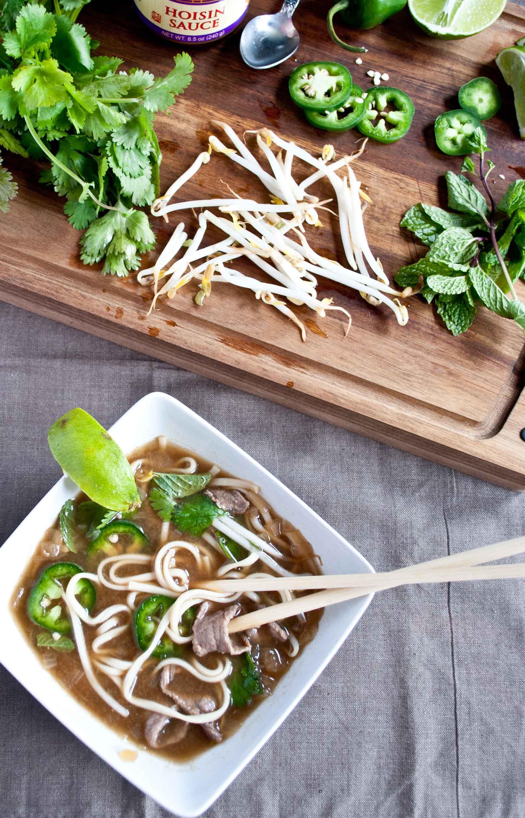 Pho Bo (Vietnamese Beef and Noodle Soup) | NeighborFood