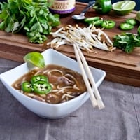Pho Bo (Vietnamese Beef and Noodle Soup) for #SundaySupper