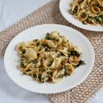 Veggie Orecchiette with Breadcrumbs