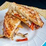 Fajita Style Grilled Cheese