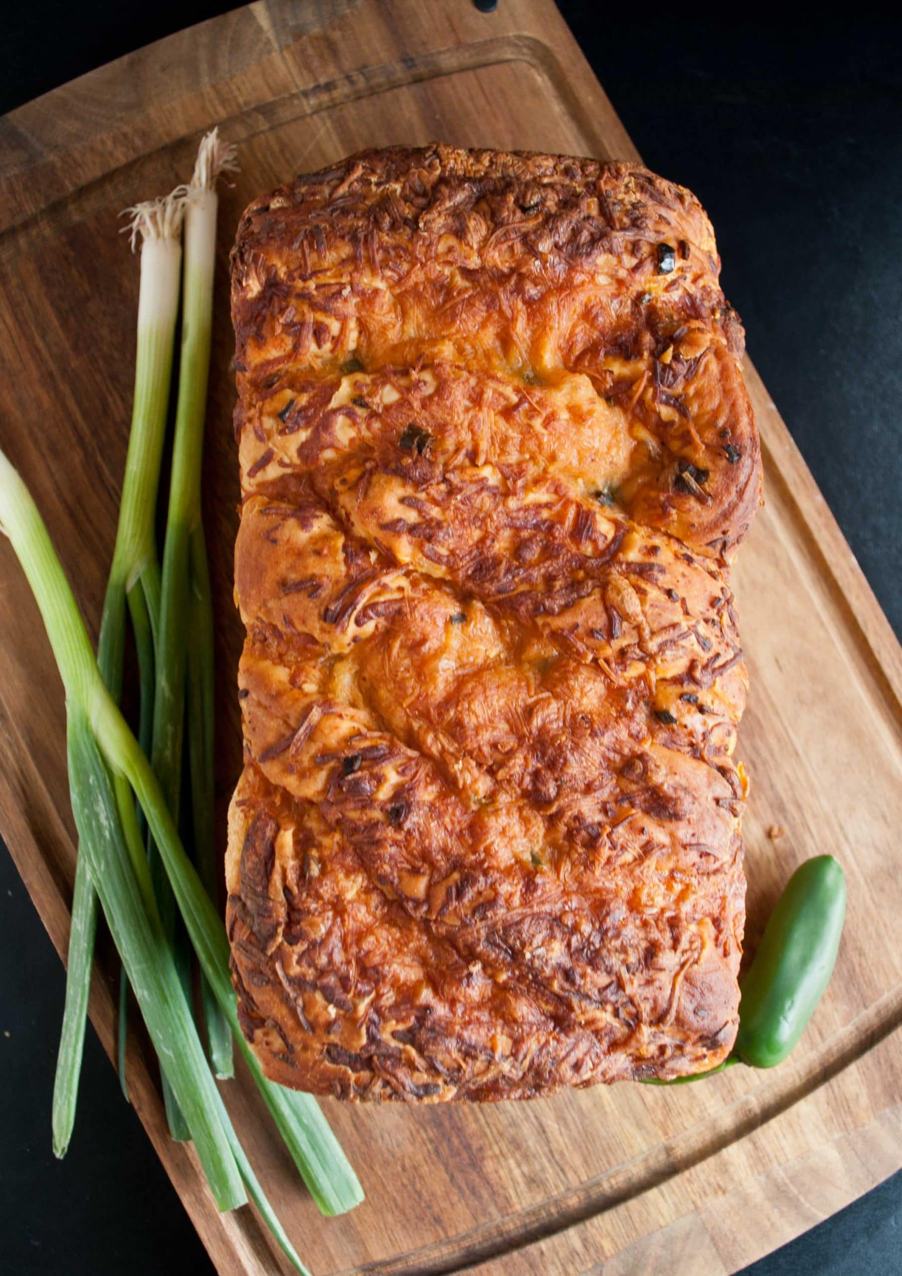 Cheesy Jalapeno Bread
