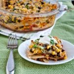 Mexican Lasagna for Food Bloggers Against Hunger