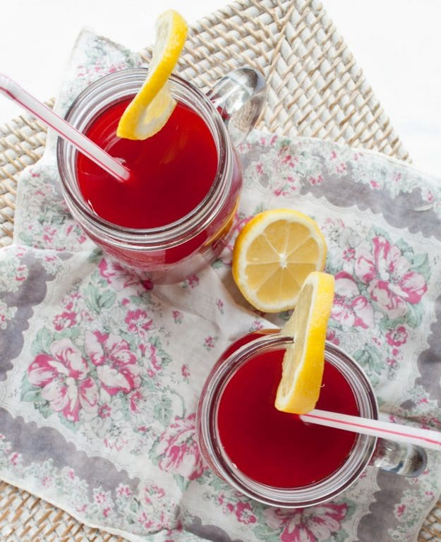 Raspberry Cordial from Anne of Green Gables