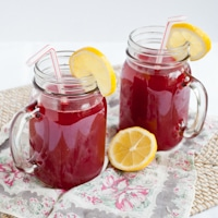 Raspberry Cordial from Anne of Green Gables #SundaySupper
