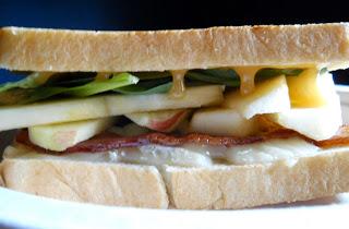 Bacon Apple Brie Sandwiches