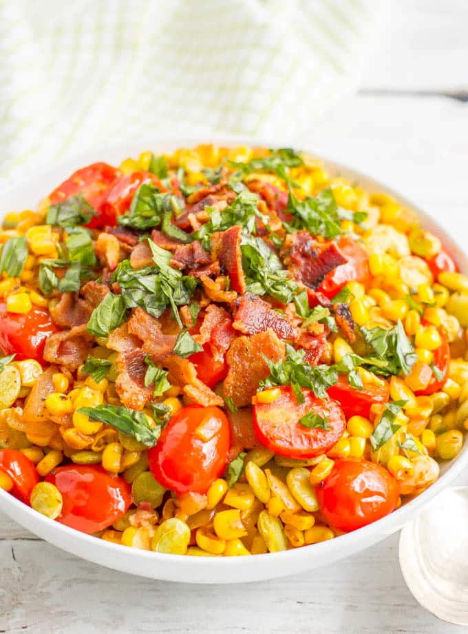 Easy Southern Summer Succotach