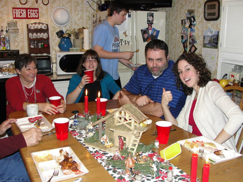 our kitchen table