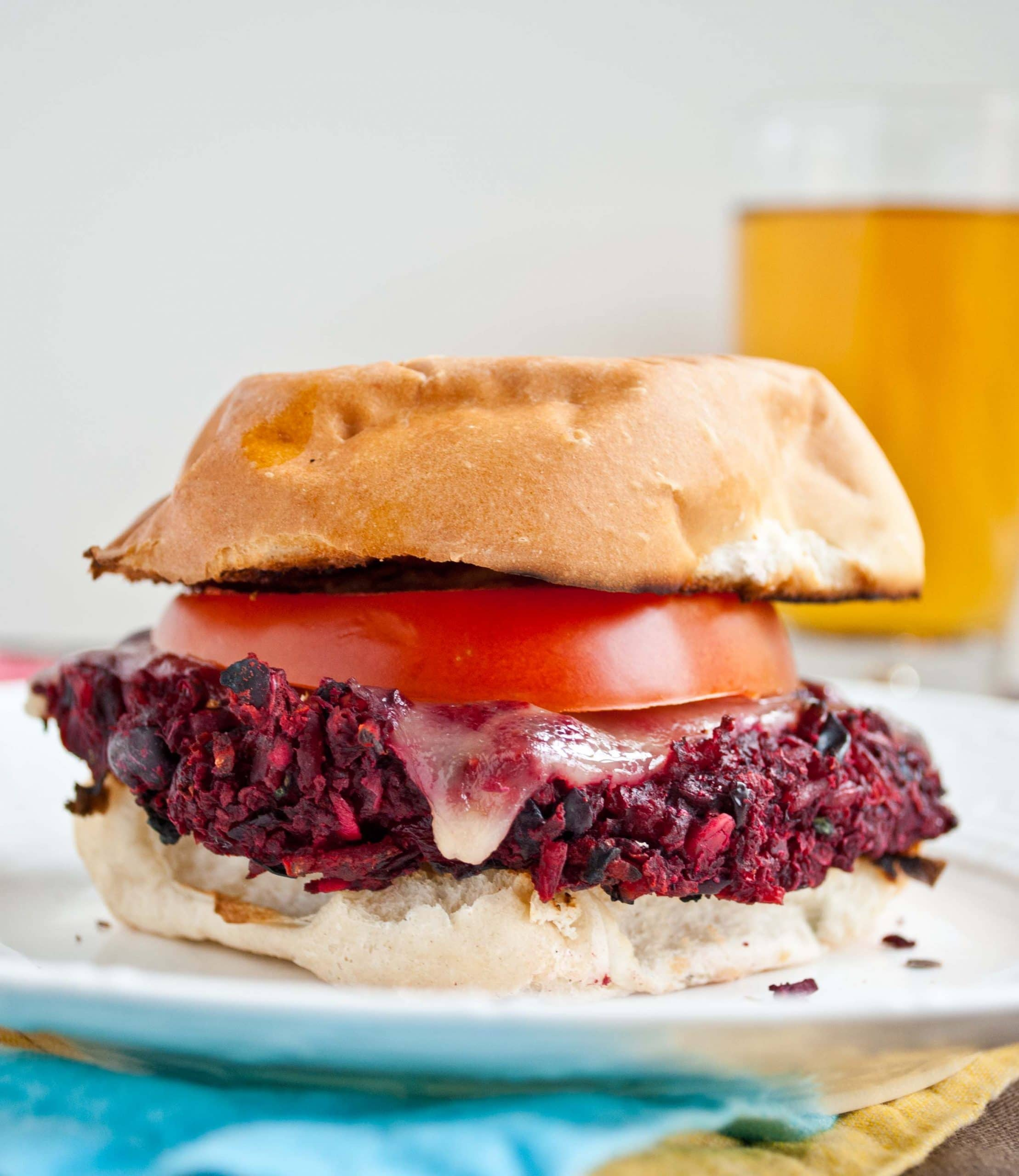 The Ultimate Beet and Bean Veggie Burger | Neighborfoodblog.com