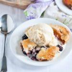 Blackberry Peach Cobbler for #SundaySupper