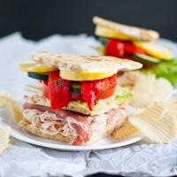 Mediterranean Club Sandwich