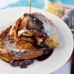 Bacon, Apple, and Dubliner Cheese Stuffed French Toast for #SundaySupper