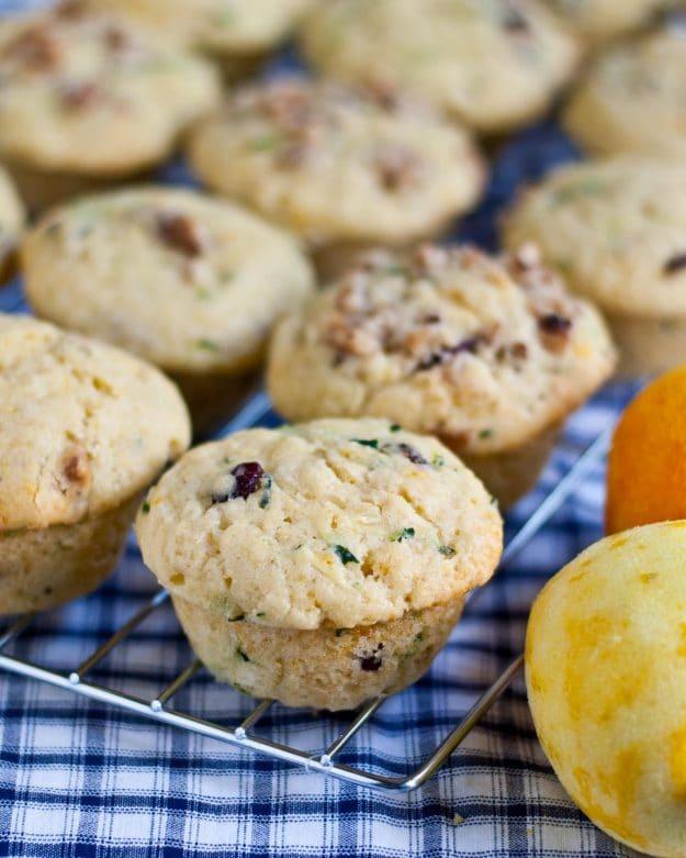 Citrusy Zucchini Muffins | Neighborfoodblog.com