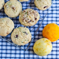 Citrusy Zucchini Muffins + King Arthur Flour Cookbook Giveaway!