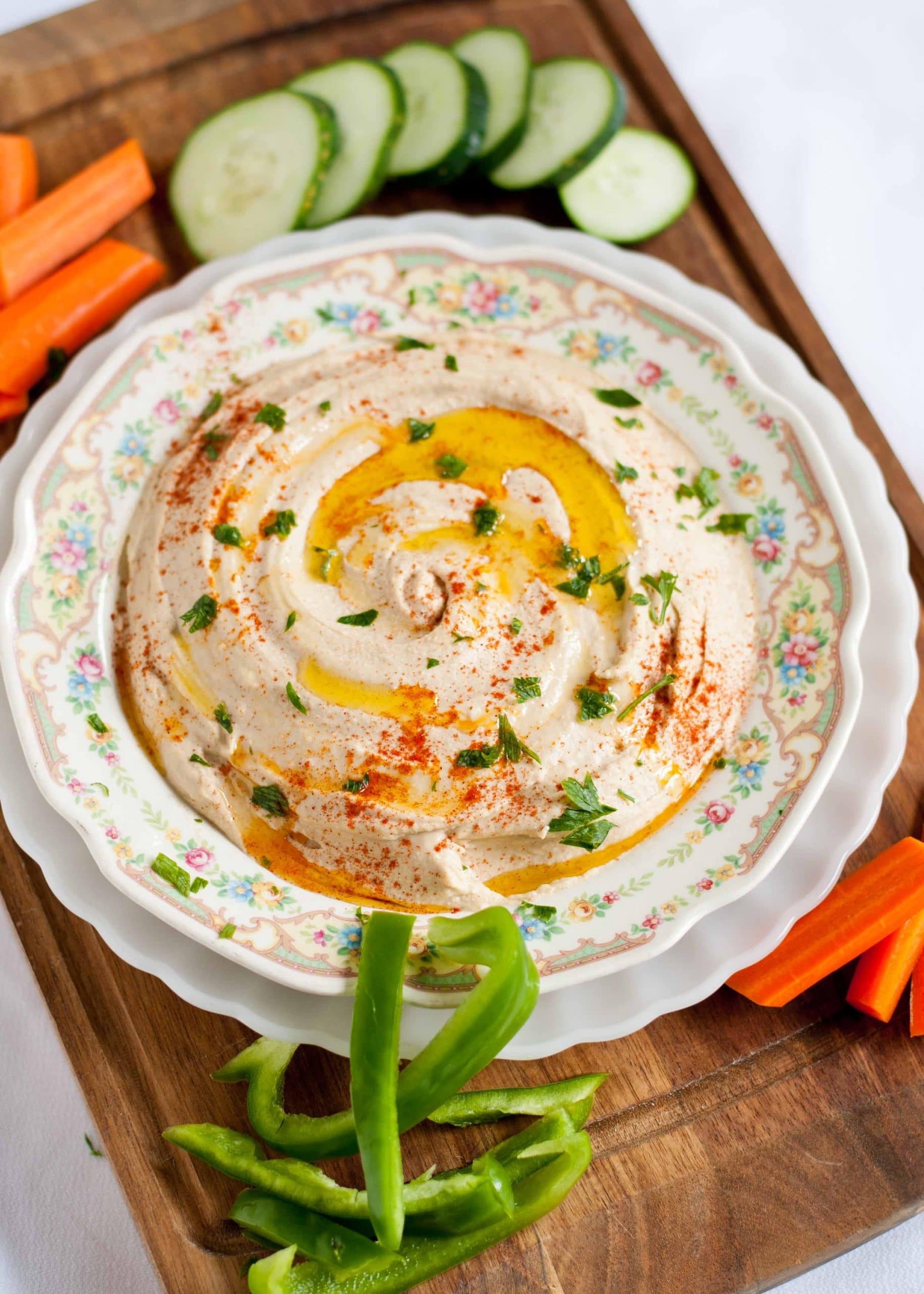 How To Make Ultra Smooth, Creamy Hummus   Neighborfoodblog.com