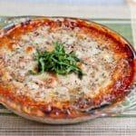 Three Cheese Lasagna Dip