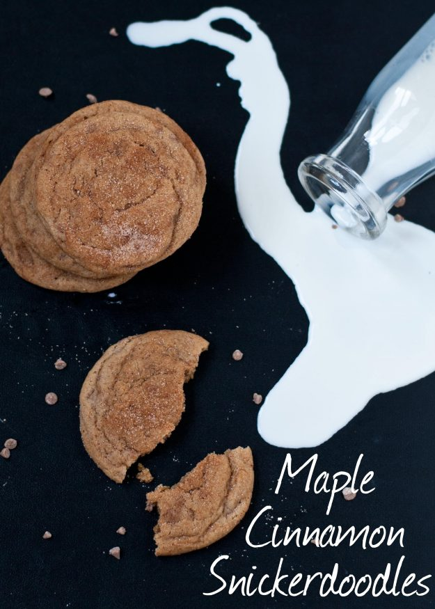 Maple Cinnamon Chip Snickerdoodle | Neighborfoodblog.com