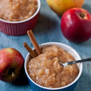 Crock Pot Applesauce (MA, GF, V)