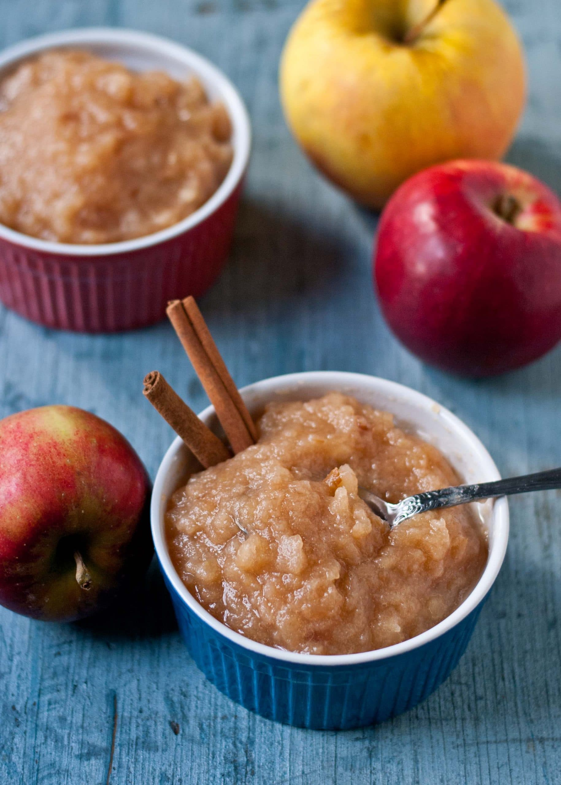 Let your slow cooker do all the work for you with this Easy Crock Pot Applesauce Recipe!