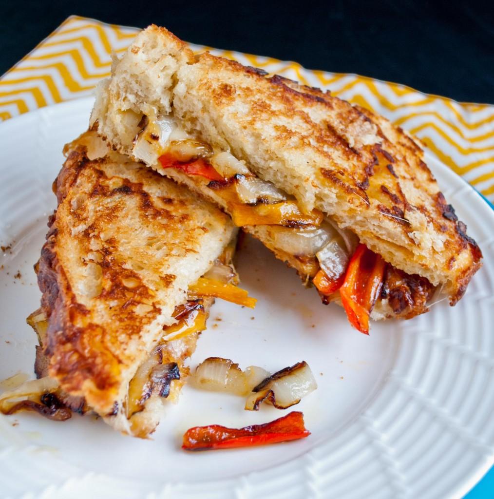 fajita-style-grilled-cheese