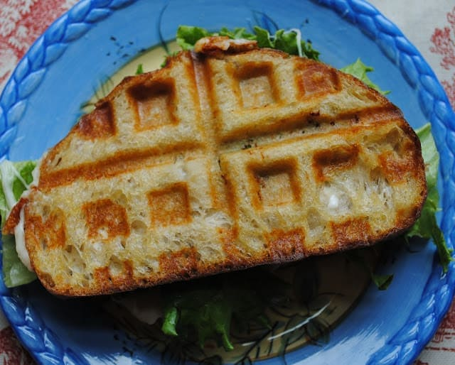 waffle grilled cheese 2