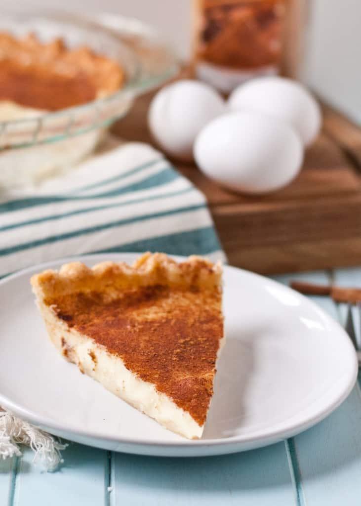 Custard Pie | Neighborfoodblog.com >> Easy to make, even easier to eat ...
