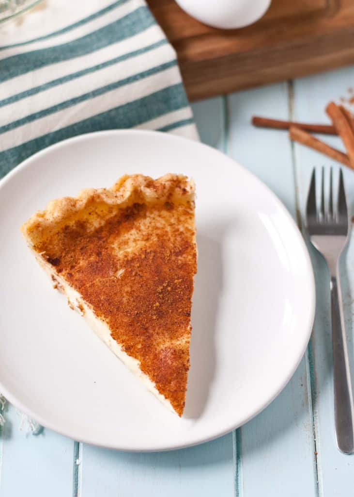 Custard Pie | Neighborfoodblog.com >> Easy to make, even easier to eat!