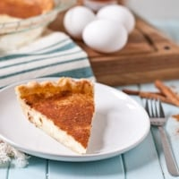 Mom's Custard Pie #SundaySupper thumbnail