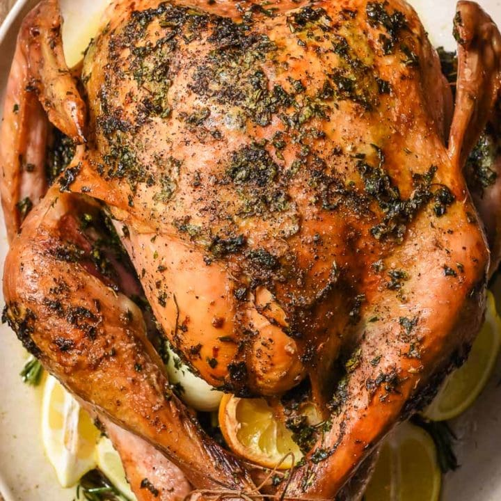 Easy Garlic and Herb Oven Roasted Turkey Recipe