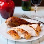 Simple Garlic and Herb Roasted Turkey