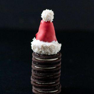 OREO Cookie Ball Santa Hats