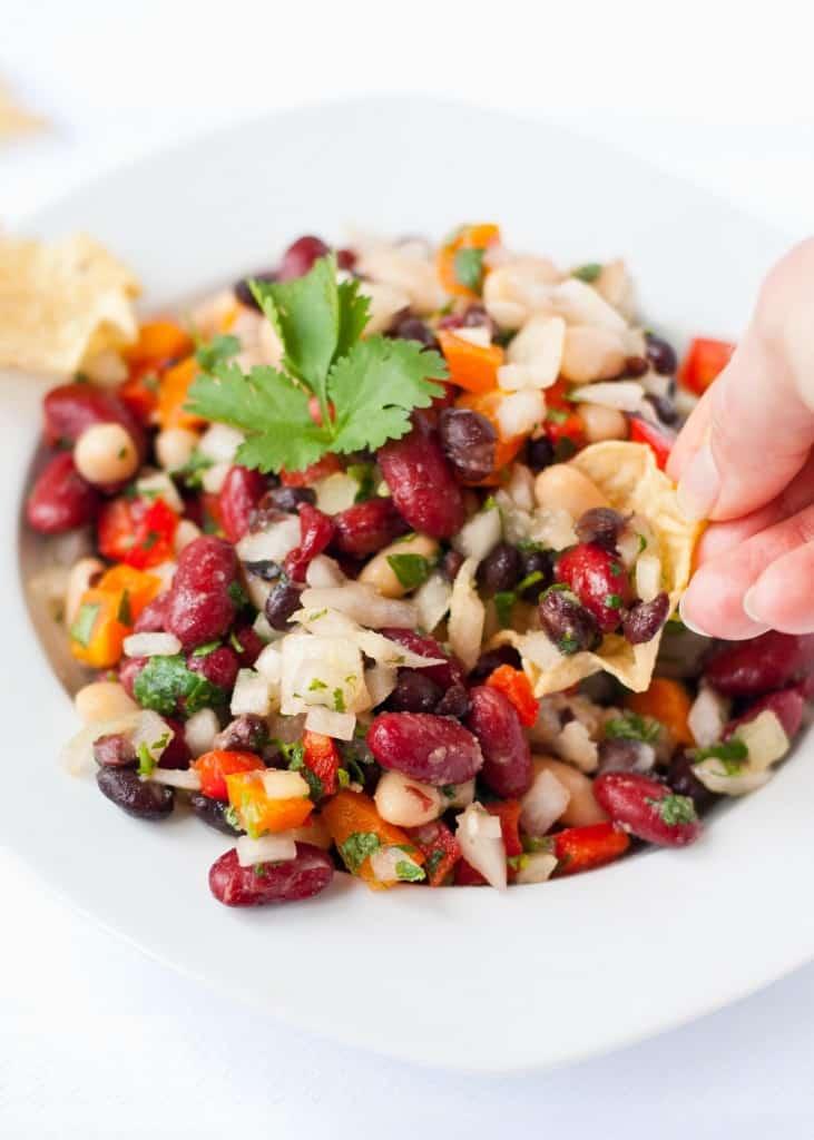 The Best Three Bean Salad | Neighborfoodblog.com