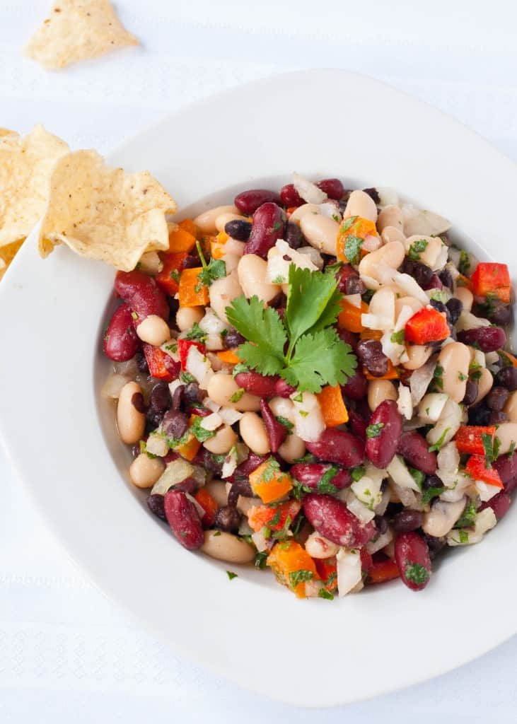 The Best Three Bean Salad | Neighborfoodblog.com