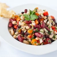 3 Bean Cilantro Lime Salad