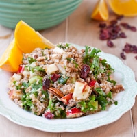 Powerhouse Bulgur Salad with Orange Vinaigrette