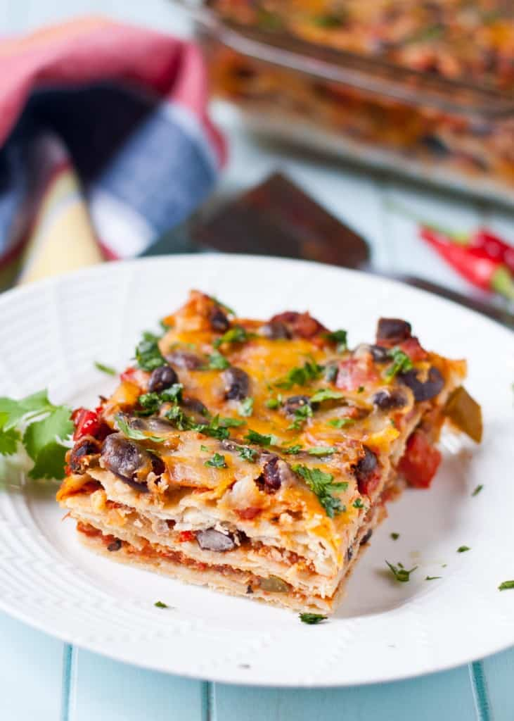 Mexican Lasagna | Neighborfoodblog.com 2